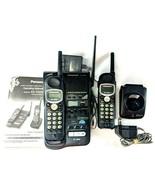Home Office Telephone Panasonic Cordless KX-TG2382B DIGITAL Answer Syste... - $38.65
