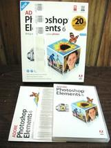 Adobe Photoshop Elements 6 Software USED Guaranteed -S1 - $24.95