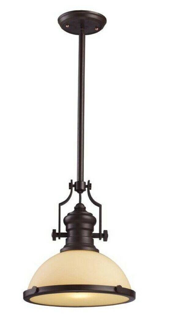 Priston 1 light dome pendant - $150.00