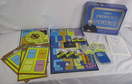 The Peoples Court Board Game, Model #7019, 1986, Hoyle. Judge Wapner. USA. - $10.26