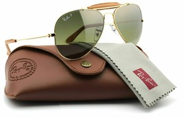 Ray Ban Sunglasses Aviator Craft RB3422Q 001/M9 58 Polarized Lens  - $247.50