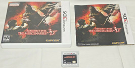 Completo Resident Evil: la Mercenaries 3D Nintendo 3DS 2011 con Caja y L... - $24.05