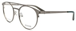 GUESS GU1956 009 Men's Eyeglasses Frames Round 50-19-140 Matte Gunmetal ... - $59.80