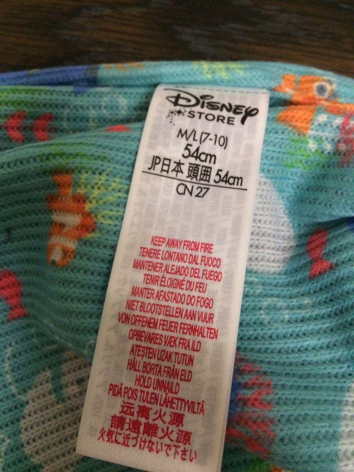Disney Store Finding Dory Reversible Kids Hat PIXAR Unisex sz M L 7 - 10 image 6