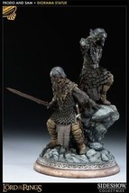 Sideshow Frodo and Samwise Exclusive Diorama Statue Lord of the Rings MIB - €629,88 EUR