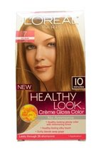 Healthy Look Creme Gloss Color # 7 Dark Blonde by L'Oreal for Women - 1 ... - $19.59