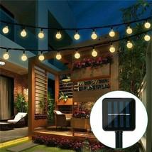 Solar Powered 30 LED String Light Garden Path Yard Decor Lamp Outdoor Waterproof - $28.99