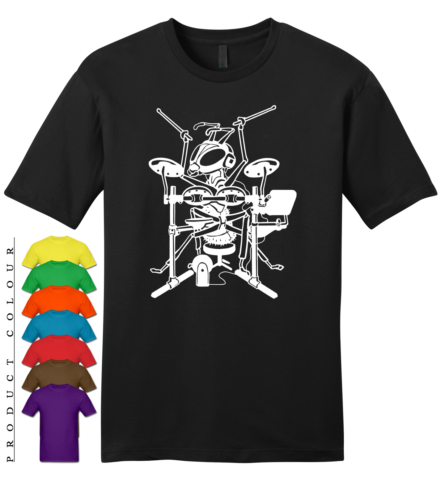 Primary image for Ant Drummer Mens Gildan Funny T-Shirt New