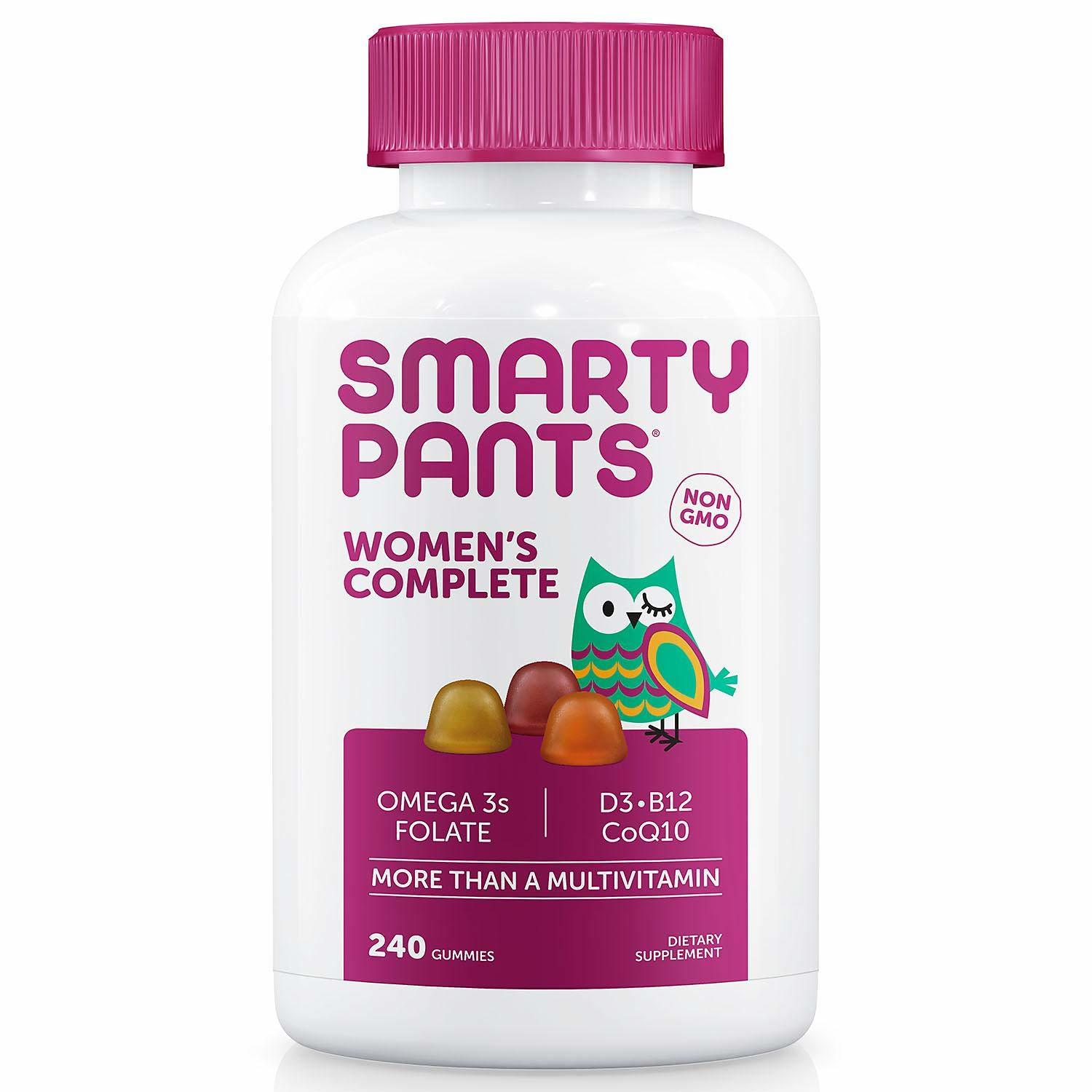 Primary image for SmartyPants Women's Complete Multivitamin Dietary Supplement 240 Gummies .......