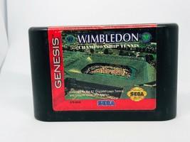 Wimbledon Championship Tennis (Sega Genesis, 1993) - $5.99