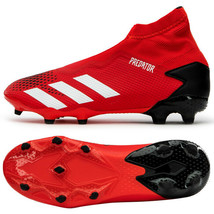Adidas Predator 20.3 LL FG Football Shoes Soccer Cleats Red EE9554 - $99.99