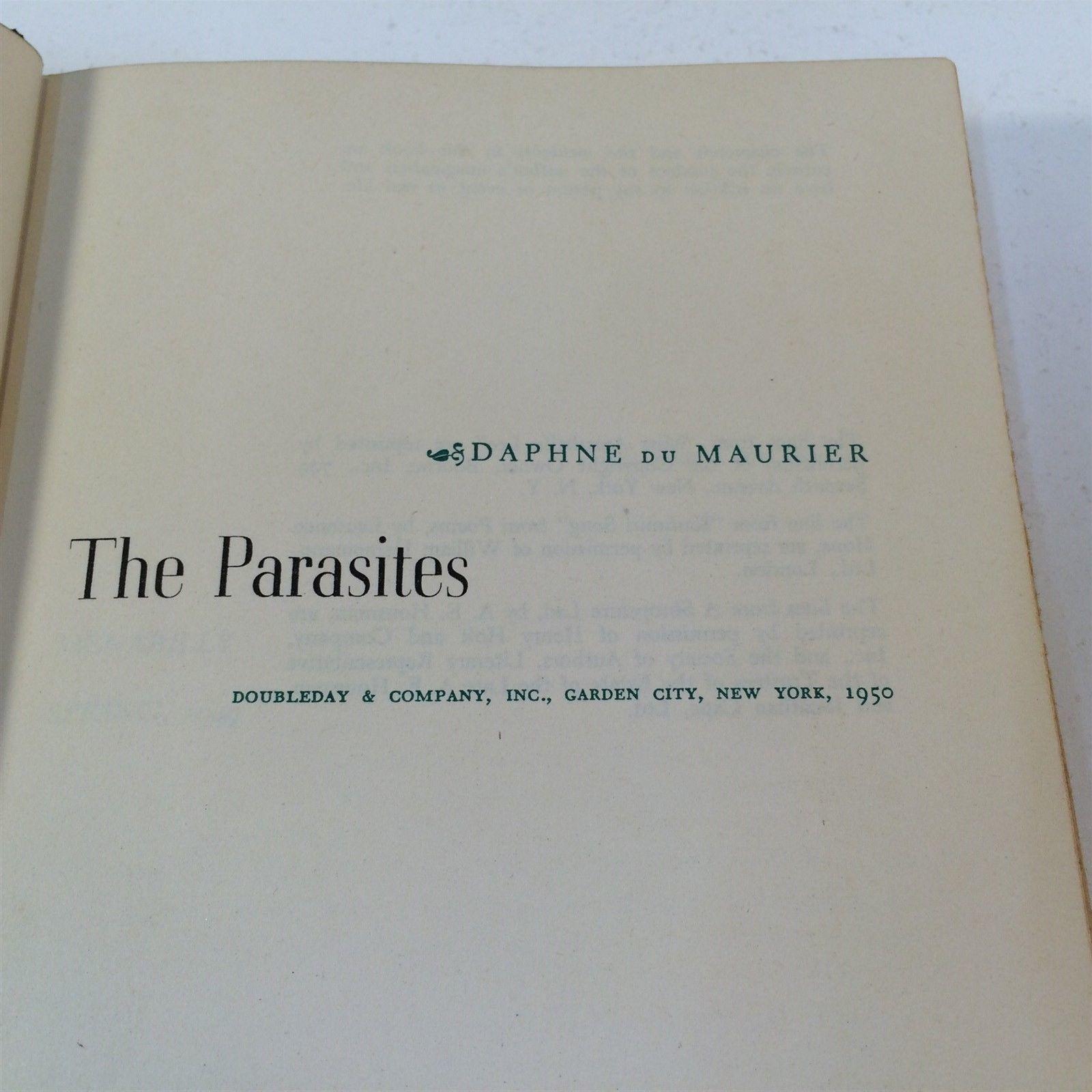 The Parasites by Daphne DuMaurier - 1950 HC