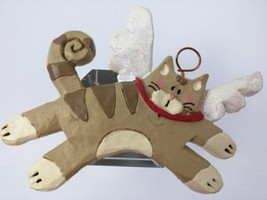 Kurt Adler Christmas Tree Ornament Kitty Cat Angel - $8.90