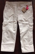 LANDS' END Big Girl CAPRI PANTS Size: 7+ (SMALL) New SHIP FREE Adjustabl... - $29.99