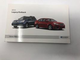 2013 Subaru Legacy/Outback Owners Manual Handbook Z0L20 - $28.79