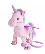 Unicorn Toy Electric Walking Plush Stuffed Animal Gift For Christmas For... - $21.99