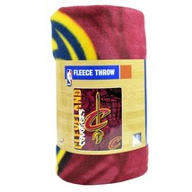 Cleveland Cavaliers Fleece Blanket Throw Graffiti Style Series 50X 60 Nwt - $18.99