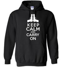 Keep Calm and Carry On Blend Hoodie - $43.82 CAD+