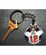 TOM BRADY Tampa Bay Bucs Keychain #5 Key Chain NFL - $6.78