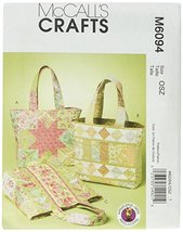 McCall's Patterns M6094 Bags, One Size Only - $7.83