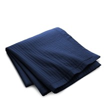 RALPH LAUREN REED 5PC POLO NAVY QUILTED F/Q COVERLET  2 S/SHAMS 2 EURO S... - $403.74