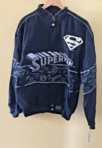 JH Designs Superman DC Comics 100% Cotton Jacket NWT NEW Retired Design ... - $59.95