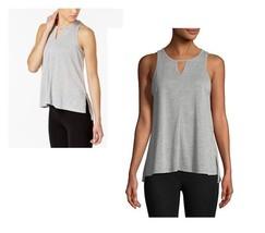 Calvin Klein Performance Epic Cutout Tank Top Gray Size XL - NWT - $9.79