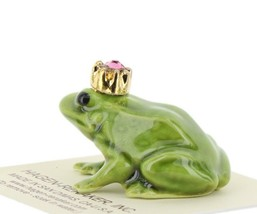 Birthstone Frog Prince October Simulated Tourmaline Miniatures by Hagen-Renaker image 2