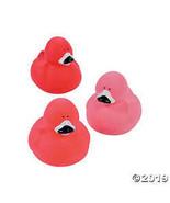 Flamingo Rubber Duckies - $8.36