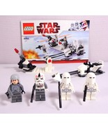 Lego Star Wars Set Snowtrooper Battle Pack 4 Minifigs Hoth Imperial Offi... - $34.95