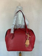 NWT Tory Burch Red Apple Perry Satchel - $562.31