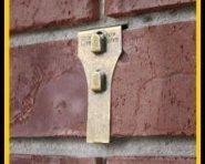 Brick Clip Fastener Ornament Hangers