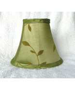 New SAGE w/ FELT LEAVES  Chandelier or Candle Lamp Shade - $13.00