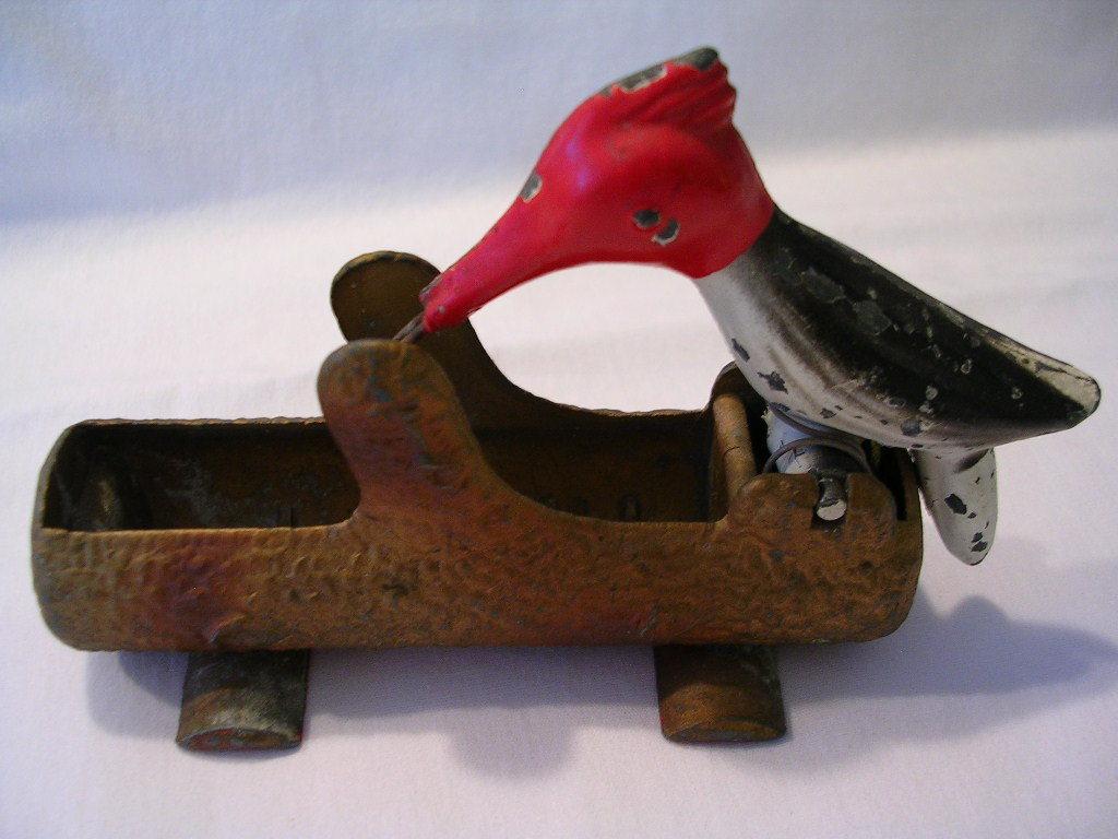 Metal Woodpecker Toothpick Holder Toothpick Holders