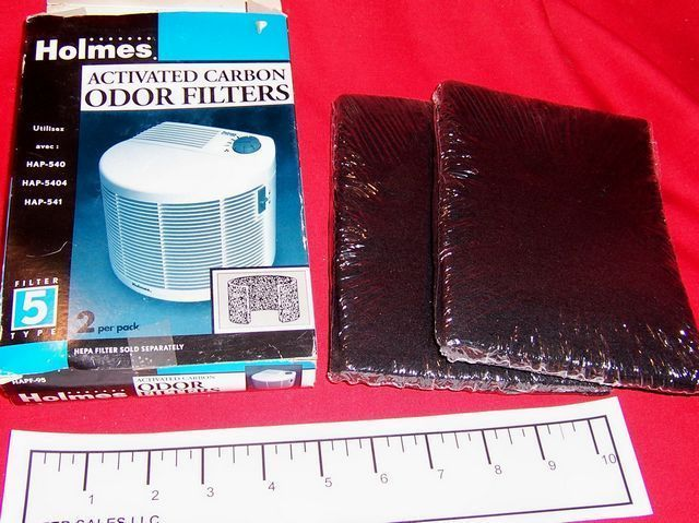 Holmes Activated Charcoal Odor Filters HAPF-95 Type 5