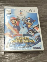Mario & Sonic at the Olympic Winter Games (Nintendo Wii, 2007) Sealed NEW - $61.70