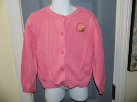 Gymboree Pink Knit Cardigan Size 5 Girl's EUC - $21.00