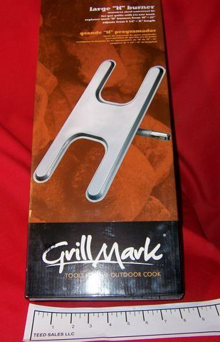 "Grillmark Large ""H"" Gas Grill Burner"
