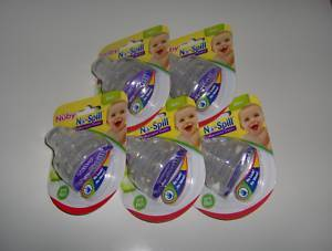 Primary image for 10 NUBY SUPER SPOUTS Replacement Spouts 10 oz Super Spout Easy Grip Cups NEW!