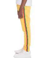 Rasta Pants Jamaican Reggae Track Yellow - $29.99