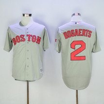 Men's Boston Red Sox #2 Xander Bogaerts away gray mlb jersey - $37.99