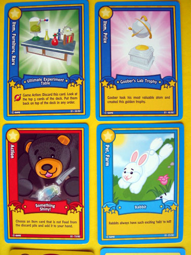 New LOT Webkinz Trading CARDS Feature CODE Rabit Knight Round Armor Curio Shop