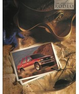 1995.5 Isuzu RODEO sales brochure catalog US 1995 1/2 S LS Passport - $8.00