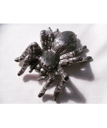 Tarantula BELT BUCKLE - Heavy Metal - $12.00