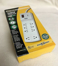 Fellowes Superior Series 8-Outlet Surge Protector Power Strip 99016 Whit... - $23.70