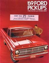 1969 Ford F- PICKUP brochure catalog Truck US 69 100 250 350 Ranger - $8.00