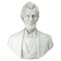 Abraham Lincoln Memorial Bust Bonded Marble Resin Statue 16th U.S. Presi... - $174.23