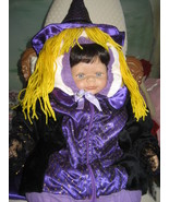 Good Witch Halloween Kids Costume Purple 12 to 24 Months All in one Jacket - $14.95