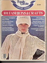 Family Circle Great Ideas 101 Fashions & Crafts Vol 2  - $5.00