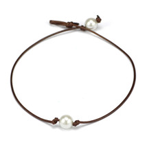 (4)LNRRABC Choker Necklaces Vintage 2017 Women's Fashion Jewelry Leather... - $8.00